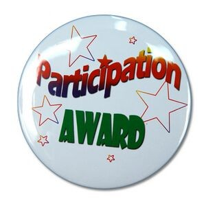 "2¼"" Stock Celluloid ""Participant Award"" Button"